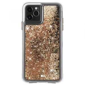 iPhone 11pro. 5.8 Gold waterfall case.
